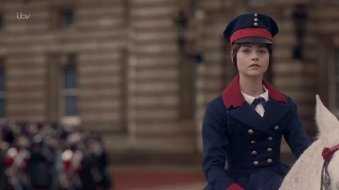Ratu Victoria setengah menangis saat memimpin upacara pertama kalinya