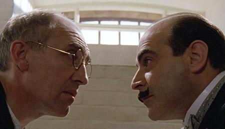 Hercule Poirot dan Alexander Bonaparte Cust di Agatha Christie's Poirot